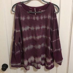 Free People Tie Dye Sweatshirt